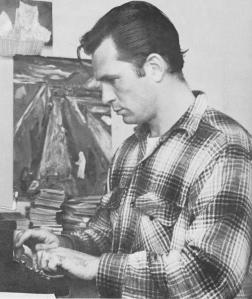 "Jack Kerouac autore del capolavoro ""Sulla strada"""