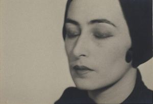 Woman with Closed Eyes, 1928, Man Ray.
